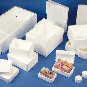 Boîte de transport en polystyrène (isomo)310x230x145mm - sans couvercle