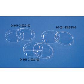 Boîte de petri 94mm (H16mm) sans ergots, aseptique