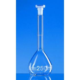 Fiole jaugée(B) - 250ml + bouchon en PP
