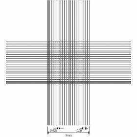 Cellule de numération Thoma, avec pinces