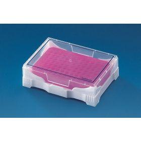 PCR Mini cooler avec couvercle transparent