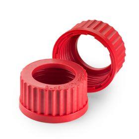 Cape à vis rouge en PBT GL18+ouverture D11mm