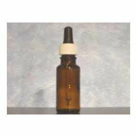 Flacon compte-goutte15ml - complète - verre ambré