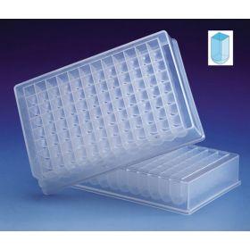 Deepwell plate 1,2ml, PP, 96well, lowProfile
