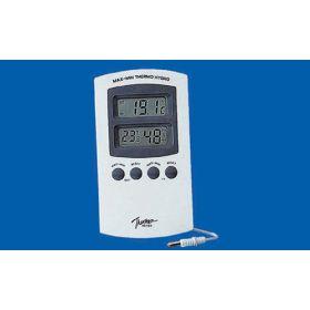 Thermo-& hygromètre int-ext -50>>+70°C / 25-98%