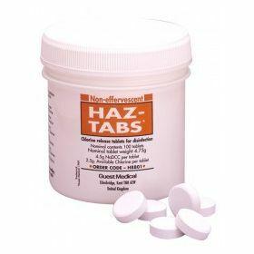 Paquet de 100 comprimés de chlorine HAZ TABS