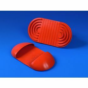 Mouffle thermoprotectrice en versilic rouge