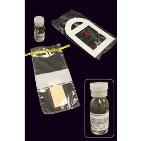 Kit de prélèvement de viande à éponge, stérile