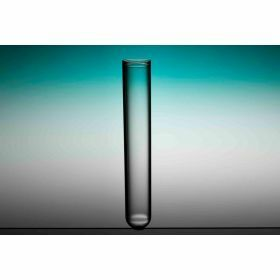 Tube fond rond 95x16mm PS