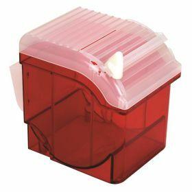 Distributeur en ABS pour Parafilm, rouge,+ cutter