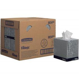 Mouchoirs Cube Kleenex, blanc, 2-plis, 21x20cm
