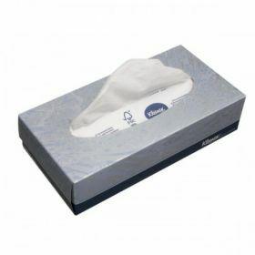 Mouchoirs Kleenex 2-plis, blanc, 21.5 x 18.6cm