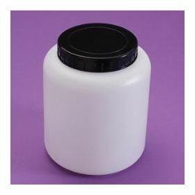 Pot rond HDPE 250ml topette + càv noire