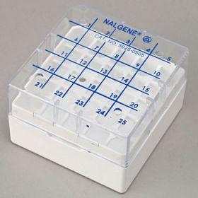 cryoboîte pour 5X5 cryotubes 1.2-2ml  (paquet de 8)