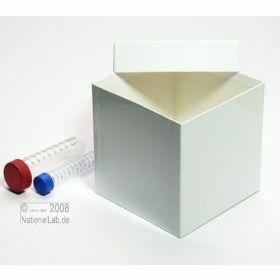 Cryoboîte Alpha H130 136x136mm - blancche - carton hydrophobe SPECIAL sans séparateurs