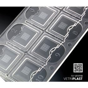 Vetriplast-10 - lames pour sédiments urinaires