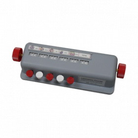 Compteur de cellules manuel - 5 compteurs - boîtier ABS
