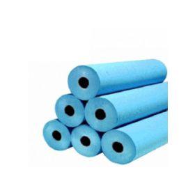 papier d'examen plastifié bleu  50cm x 57m