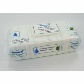 Romed Serviettes pour patients (aloe vera)