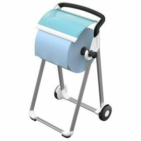 Tork floorstand mobile Blanc/Turquoise
