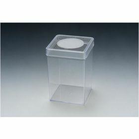 SPL conteneur d'insectes carré PS ventilation en cape 72x72x100mm