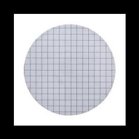 ME24/21  filtre membrane stérile quadrillé blanc/noir  D47mm 0,2µm