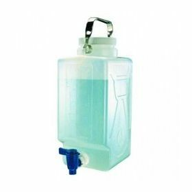 Nalgene™ carboy (bonbonne rectangulaire) PP 20L+ robinet