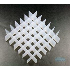 grille pour cryoboîte 7x7 pl, H30mm, PP