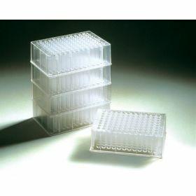 Deepwell plates de 2,2 ml  (carrés, fond rond) en polypropylène, stérile - Treff