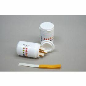Languettes indicatrices pH 0-14