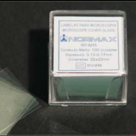 lamelle couvre-objet 18x18mm NX