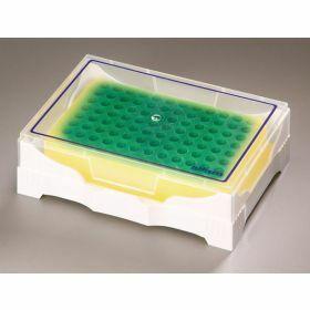 Rack Isofreeze 24 tubes - vert à jaune