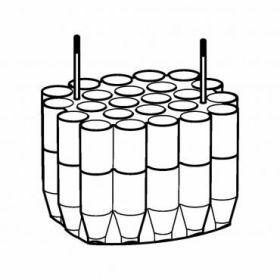 Epp SET: 2 Adaptateurs 24x 5.0 et 15ml coniques pour rotor Universal-Large