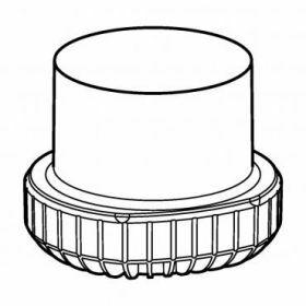 Epp SET: 2 Adaptateurs 1x flacon conique 500ml Corning pour rotor Universal-Large