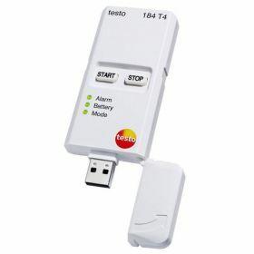 Testo 184-T4 Enregistreur de données USB pour la température, autonomie illimitée, -80°C -> 70°C