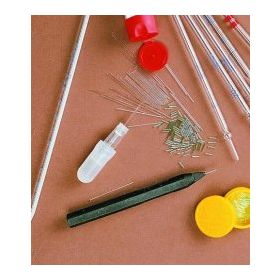 Micro capillaires incl. support et poire - 5μl