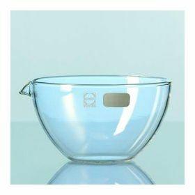 Duran Capsule d'evaporation, fond plat avec bec verseur - 600 ml