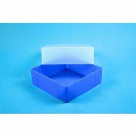 Eppi67 boîte PP H64mm, sans grille, bleu-néon