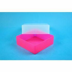 Eppi67 boîte PP H64mm, sans grille, rose-néon