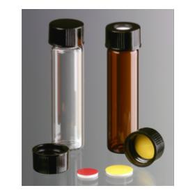Brown Bouchon à vis, 15-425 avec doublure en butyle/PTFE