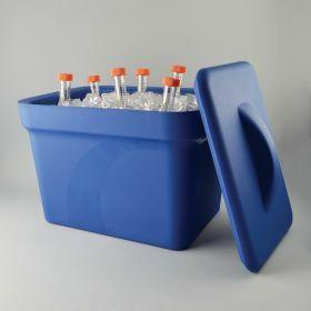 Bac à glace Ice Pan 4 litre- bleu - avec couvercle