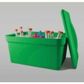 Bac à glace Ice Pan 9 litre- vert - avec couvercle