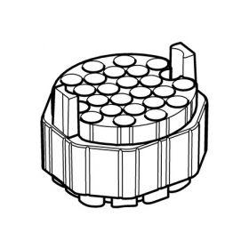 Eppendorf SET: 2 Adapteurs 26x Ø16x118mm tubes pour S-4xUniversal