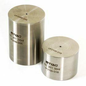 Pycnomètre 100ml acier inoxydable ISO2811