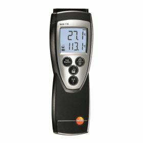 Testo 110 - Thermomètre, NTC, 2 canaux