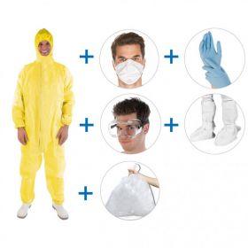 Kit de protection antivirus SUPER HIGH RISK (7pcs)