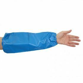 Manchon de protection en TPU bleu détectable DTECT
