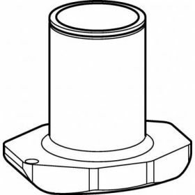 Epp SET: 2 Adaptateurs pour 1x tube conique 250ml Corning® ou Nunc® pour rotor S-4x Universal-Large
