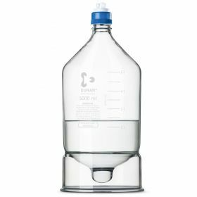 Flacon HPLC avec reservoir conique -2L - GL45