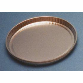 Coupelle en aluminium D102mm H7mm bord bas